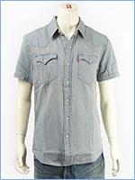 リーバイス ウェスタンシャツ デニム ライトインディゴ Levi's Shirt 21978-0028
