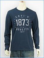 リーバイス 長袖 グラフィック Tシャツ LS 1873 Levi's L/S Tee 22538-0008