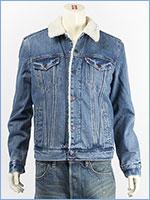 リーバイス シェルパトラッカージャケット ニードルパーク(ミッドユーズド) Levi's Jacket 16365-0040