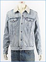 リーバイス シェルパトラッカージャケット ファインラインシェルパ(ライトユーズド) Levi's Jacket 16365-0040