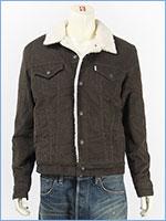 リーバイス シェルパトラッカージャケット コーデュロイ ブラック Levi's TRUCKERS 16365-0081