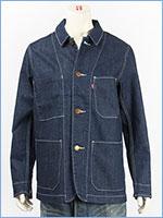 リーバイス エンジニア コート 2.0 ストレッチデニム インディゴ(リンス) Levi's Outer Wear 29655-0009