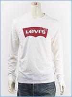 リーバイス 長袖 グラフィック Tシャツ バットウィング ロゴ Levi's L/S Tee 36015-0010