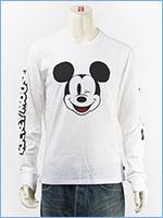 リーバイス ミッキーマウス 長袖 グラフィック Tシャツ Levi's x Disney COLLECTION MICKEY MOUSE LS GRAPHIC TEE 36015-0014