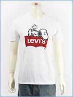 リーバイス バットウィング×スヌーピー グラフィック Tシャツ Levi's x PEANUTS COLLECTION SS GRAPHIC TEE 22491-0512