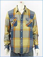 リーバイス ワークシャツ チェック LEVI'S VINTAGE CLOTHING SHORT HORN SHIRT 23863-0017