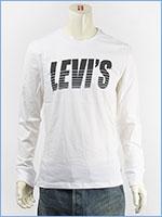 リーバイス 長袖 グラフィック Tシャツ 斜体ロゴ LEVI'S LS GRAPHIC TEE SLANT LOGO 36015-0008