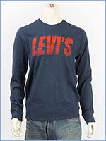 リーバイス 長袖 グラフィック Tシャツ 斜体ロゴ LEVI'S LS GRAPHIC TEE SLANT LOGO 36015-0009