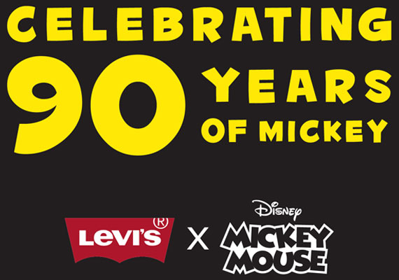 Levi's x Disney COLLECTION MICKEY MOUSE