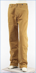 リーバイス チノ 1920年代モデル コットンツイル LEVI'S VINTAGE CLOTHING 1920'S CHINO BORN BROWN WORN 19200-0026