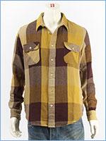 リーバイス ワークシャツ チェック LEVI'S VINTAGE CLOTHING SHORT HORN SHIRT 23863-0006