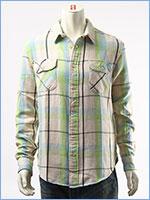 リーバイス ワークシャツ チェック LEVI'S VINTAGE CLOTHING SHORT HORN SHIRT 23863-0008