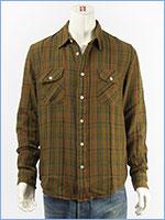 リーバイス ワークシャツ チェック LEVI'S VINTAGE CLOTHING SHORT HORN SHIRT 23863-0010