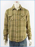 リーバイス ワークシャツ チェック LEVI'S VINTAGE CLOTHING SHORT HORN SHIRT 23863-0011
