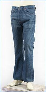 リーバイス LEVI'S 505 1967年モデル カスタマイズド ブーツカット セルビッジデニム ミッドユーズド LEVI'S VINTAGE CLOTHING 1967 505 Customized Jeans If 6 was 9 29191-0000