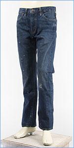 リーバイス LEVI'S 501ZXX 1954年モデル カスタマイズド セルビッジコーンデニム ダメージユーズド LEVI'S VINTAGE CLOTHING 1954 501 Customized Jeans WANTED 34669-0000