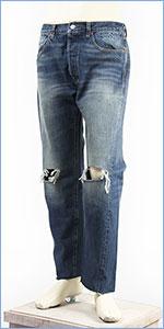 リーバイス LEVI'S 501XX 1966年モデル セルビッジコーンデニム ユーズド&ダメージ LEVI'S VINTAGE CLOTHING 1966 501 Jeans Lonely Hearts 66501-0130