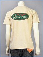 MANASTASH マナスタッシュ 半袖 ロゴ プリントTシャツ コットン×ヘンプ MANASTASH S/S LOGO PRINT TEE 7193021-04