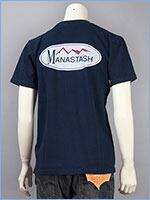MANASTASH マナスタッシュ 半袖 ロゴ プリントTシャツ コットン×ヘンプ MANASTASH S/S LOGO PRINT TEE 7193021-87