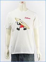 ディズニー ミッキーマウス 半袖 プリント Tシャツ サーフ Disney S/S MICKEY MOUSE PRINT T-SHIRT RINGER GU821077R-001