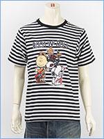 ピーナッツ スヌーピー 半袖 プリント Tシャツ ロックデザイン PEANUTS S/S SNOOPY PRINT T-SHIRT GU821080R-911