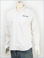 ショット オックスフォード ボタンダウンシャツ SCHOTT OXFORD B.D. SHIRT COFFE BAR 3125055-01 長袖