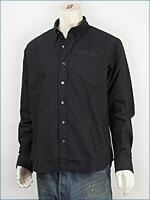 ショット オックスフォード ボタンダウンシャツ SCHOTT OXFORD B.D. SHIRT COFFE BAR 3125055-09 長袖