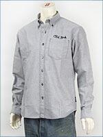 ショット オックスフォード ボタンダウンシャツ SCHOTT OXFORD B.D. SHIRT COFFE BAR 3125055-14 長袖