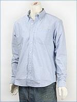 ショット オックスフォード ボタンダウンシャツ SCHOTT OXFORD B.D. SHIRT COFFE BAR 3125055-84 長袖