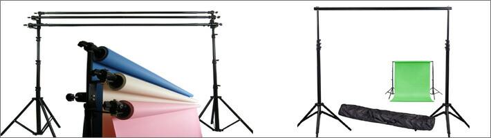 撮影用機材 撮影用背景スタンド