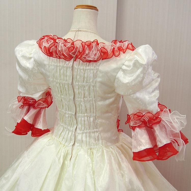 1d94d453d1d94 豪華なプリンセスラインのお姫様ドレス。 オペラ・声楽・演劇・発表会・演奏会などの舞台衣装・ステージ衣装にお勧めのロングカラードレスです。