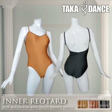 TAKA DANCE タカダンス インナーレオタード(スタンダード・ラテン兼用)