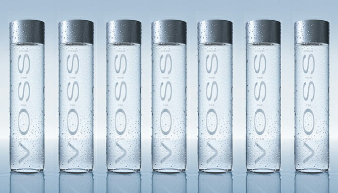 One case (*24 375 ml) of VOSS sparkling water natural water which includes  the postage (Hokkaido Okinawa is excluded) [carbonated water] [sparkling