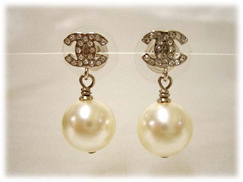 Chanel Coco Pearl Earrings A36138y02005