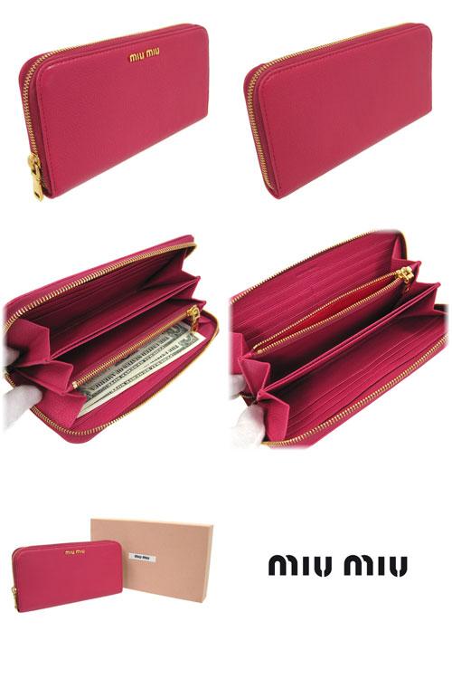 ミュウミュウ財布