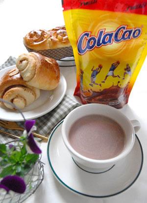 【送料無料☆メール便】スペインチョコレートドリンク「コラカオ」お試しセット