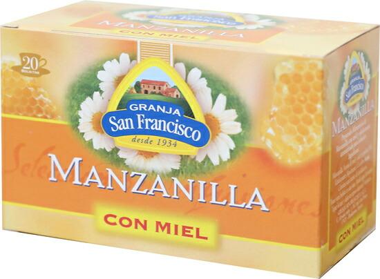 スペインのはちみつ入りカモミールティー「マンサニージャ・コンミエル」