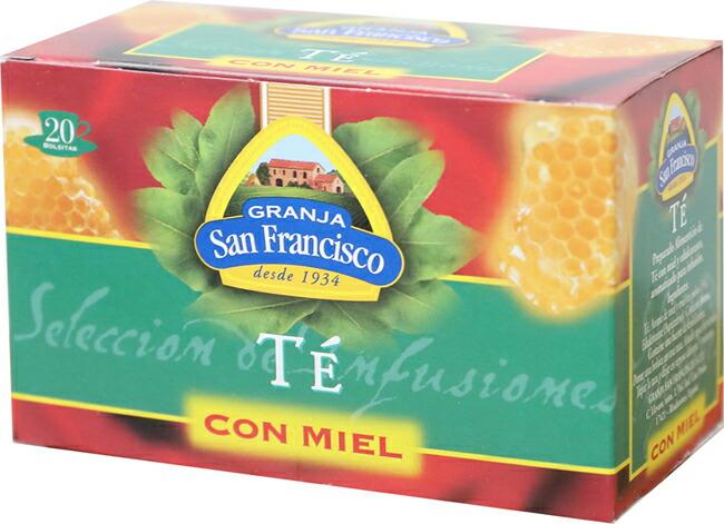 スペイン直輸入「はちみつ紅茶」はちみつ入り紅茶 / テ・コンミエル