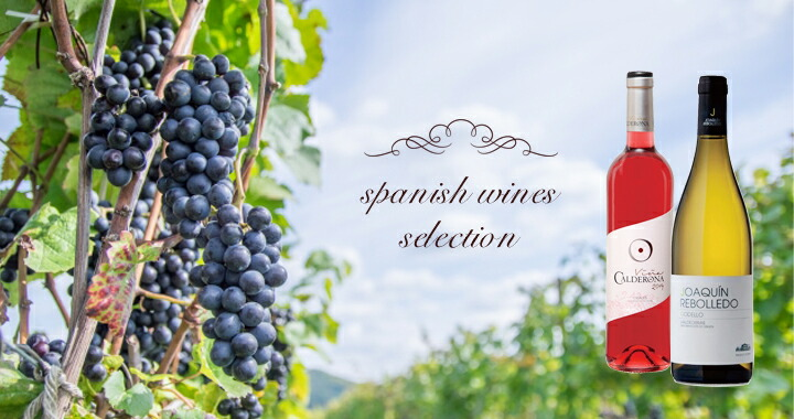 spanish wines serection
