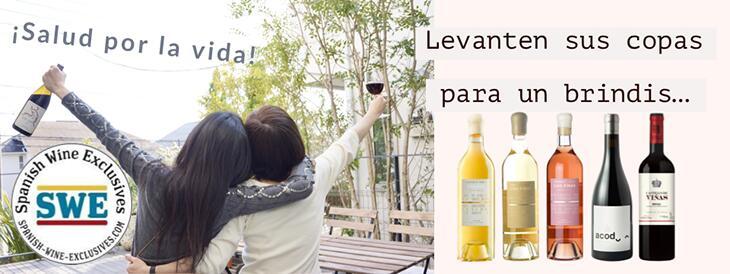spanish wines serection