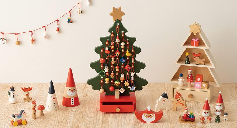 クリスマギフトにぴったりの木製ミニゲーム