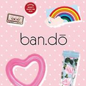 スタイリストのジェン・ゴッチが、アメリカ・ロサンゼルスで友人とともに立ち上げたライフスタイルブランドban.do(バン・ドー)のポップで楽しいデザイン雑貨