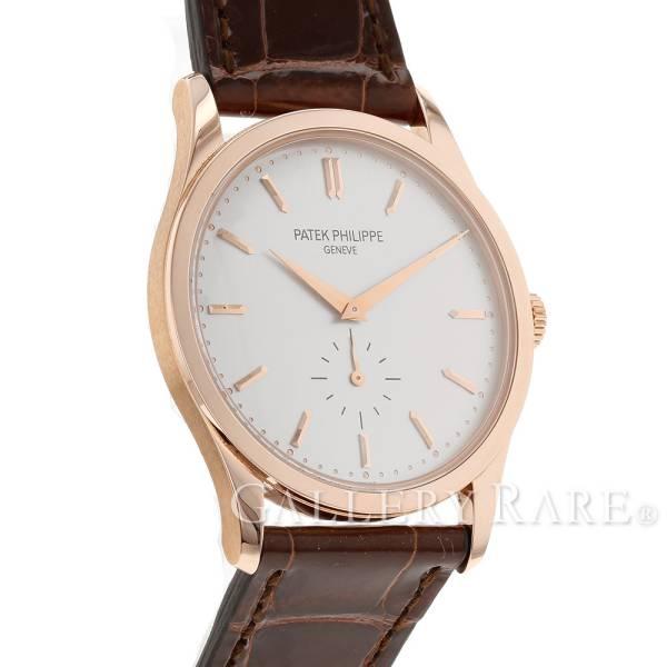 パテックフィリップ カラトラバ K18RGローズゴールド 5196R-001 PATEK PHILIPPE 腕時計 ピンクゴールド