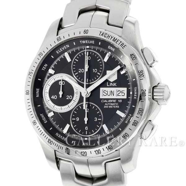 タグホイヤー リンク デイデイト 黒文字盤  CJF211A.BA0594 TAG Heuer 腕時計 ウォッチ