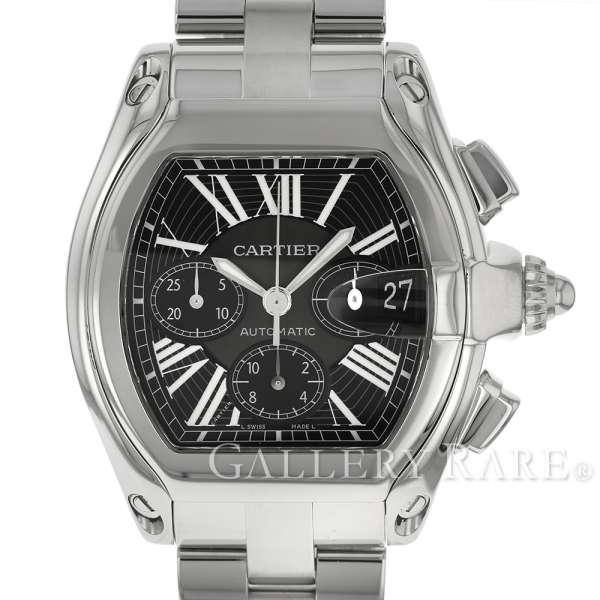 カルティエ ロードスター クロノグラフ W62020X6 Cartier 腕時計【安心保証】【中古】