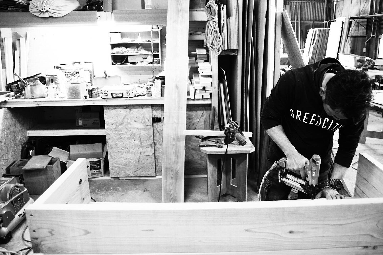 奈良のレンタル大工さん