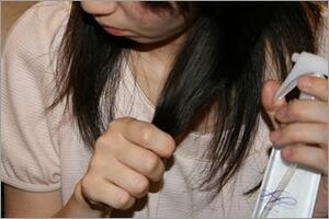 髪のまとまりが悪いとき、パサパサ髪がみが気になる時