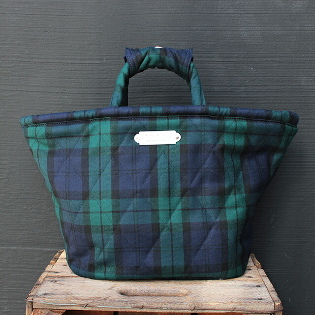 R&D.M.Co- ROYAL STEWART QUILTING MARCHE BAG (SMALL) (no.2848)