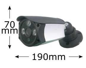 PoE 筒型