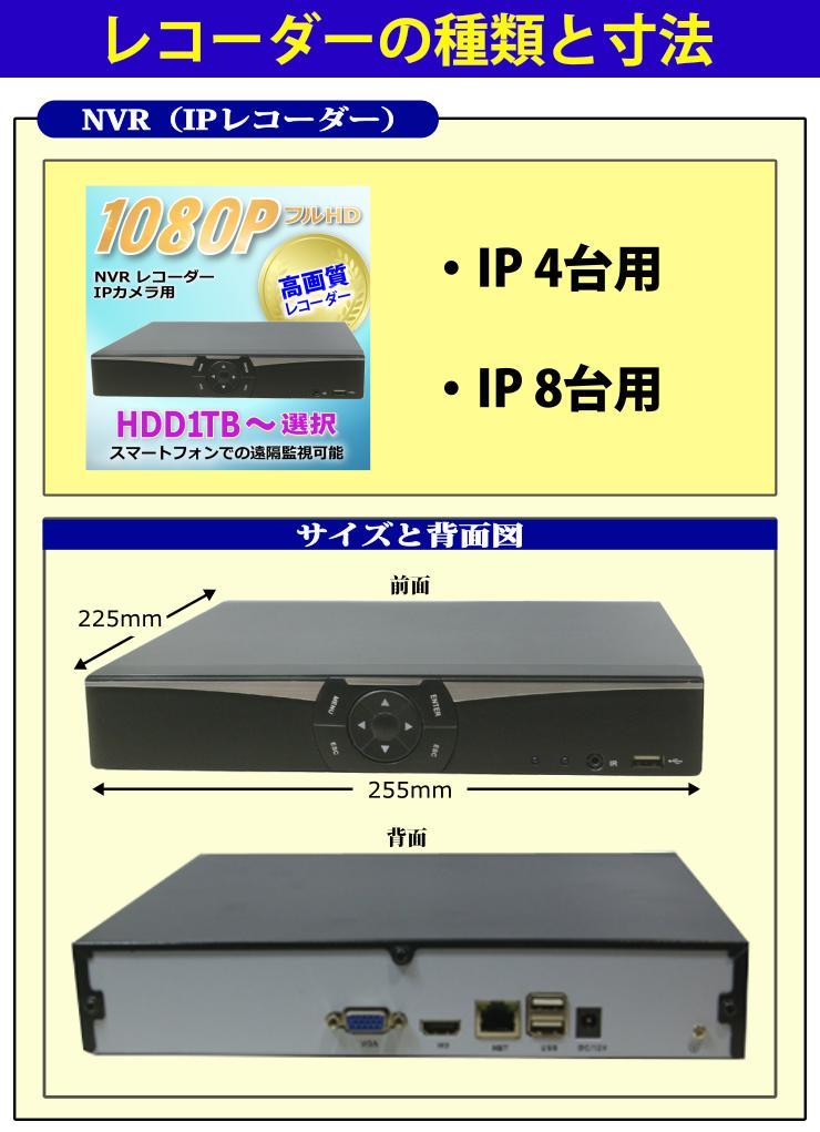 レコーダー選択1(IP)